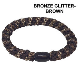 Bronze glitter brown