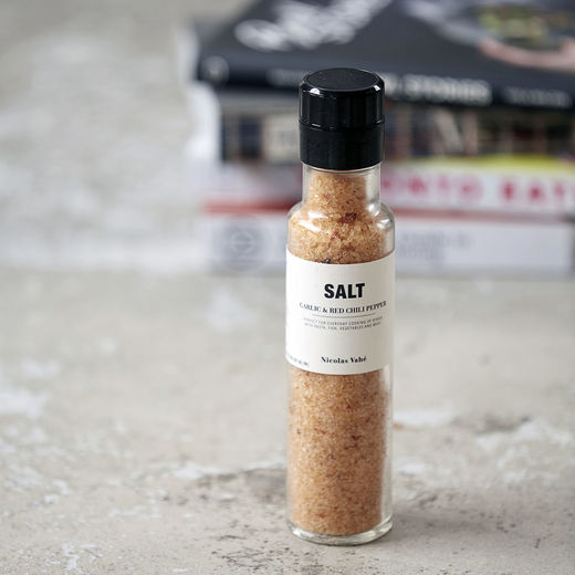 Nicolas Vahé Salt, garlic & red chili pepper